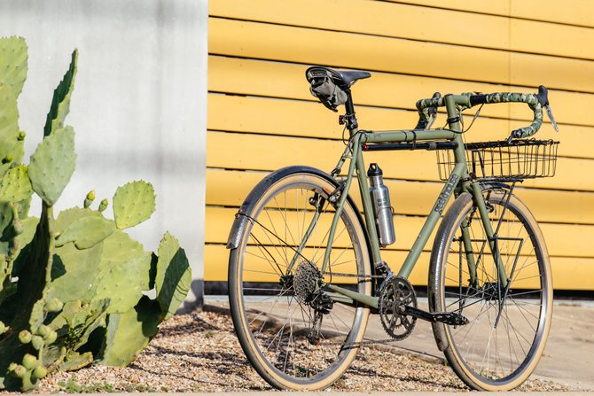 My Geekhouse Woodville Touring Bike with Fenders