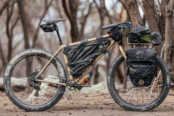 My Bush Blasted 44 Bikes Rigid MTB Tourer